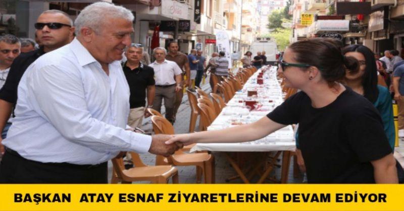 BAŞKAN ATAY GÜZELHİSAR ESNAFIYLA KAHVALTIDA BULUŞTU