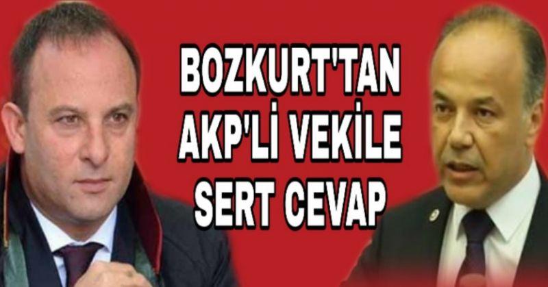 BOZKURT YAVUZ'A ÇOK SERT CEVAP:
