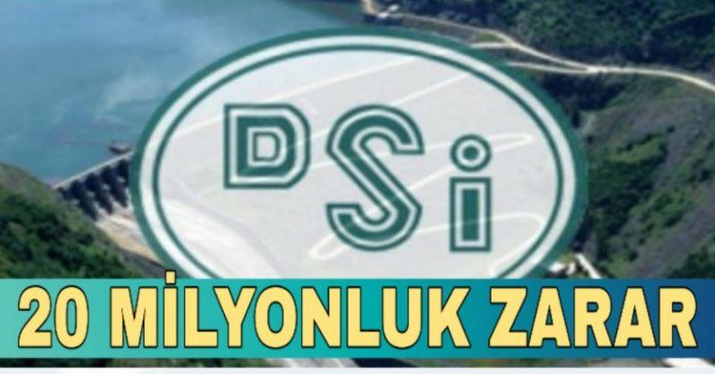DEVLET KURUMLARI DA ZARAR DA... DSİ REKOR KIRDI
