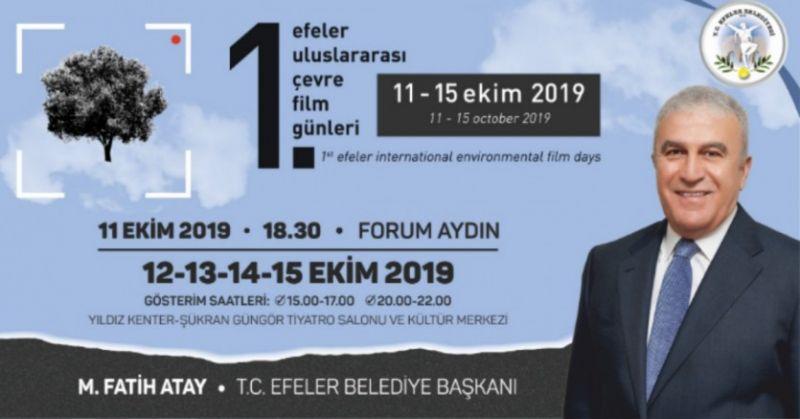 EFELER BELEDİYESİ ÇEVRE FİLM GÜNLERİ 11-15 EKİM'DE YAPILACAK