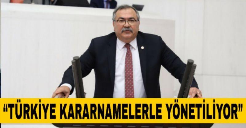"""CHP'Lİ BÜLBÜL """"YASA SARAY'DA HAZIRLANIYOR"""" DEDİ AKP'LİLER TEPKİ GÖSTERDİ"""