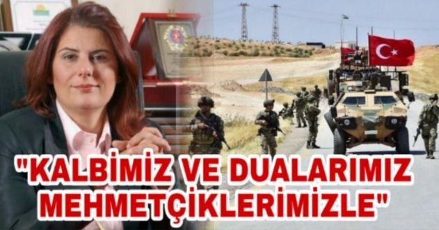 ÇERÇİOĞLU'NDAN 'BARIŞ PINARI' MESAJI