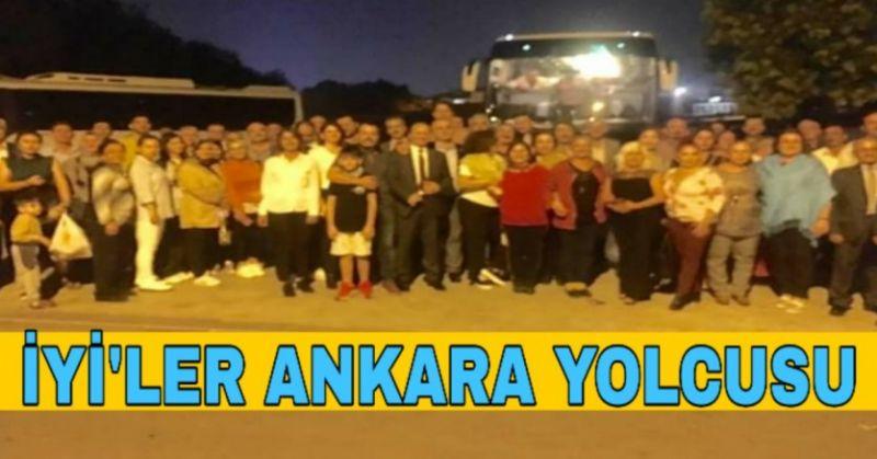 İYİ PARTİ AYDIN'DAN ANKARA ÇIKARMASI