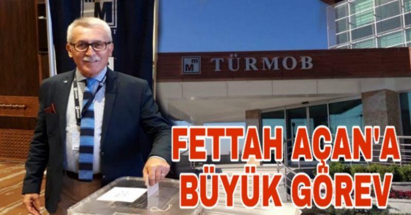 FETTAH AÇAN, TÜRMOB YÖNETİMİNE SEÇİLDİ