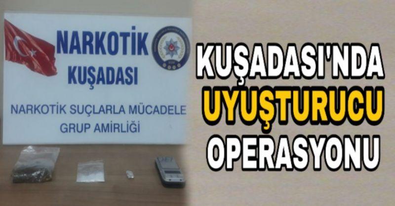 KUŞADASI'NDA ZEHİR TACİRİ TUTUKLANDI