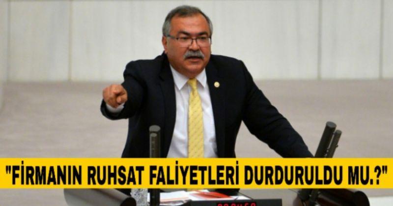 CHP'Lİ BÜLBÜL, BAKAN KURUM'A SORDU...