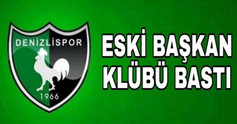 DENİZLİSPOR BASIN TOPLANTISINA SİLAHLI BASKIN