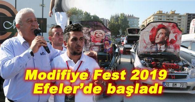 EFELER'DE MODİFİYE ARAÇ FESTİVALİ