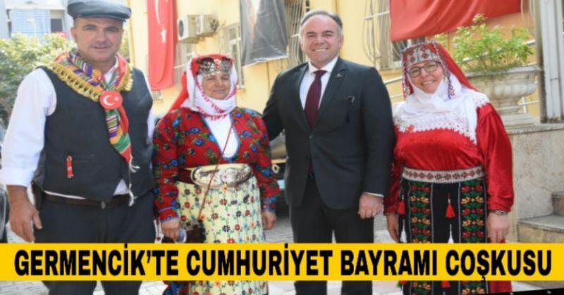 GERMENCİK'TE DOLU DOLU CUMHURİYET BAYRAMI KUTLAMASI