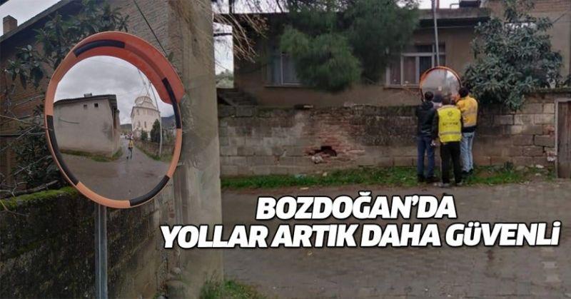 'TRAFİK GÜVENLİĞİ AYNASI' KAZALARI ÖNLEYECEK