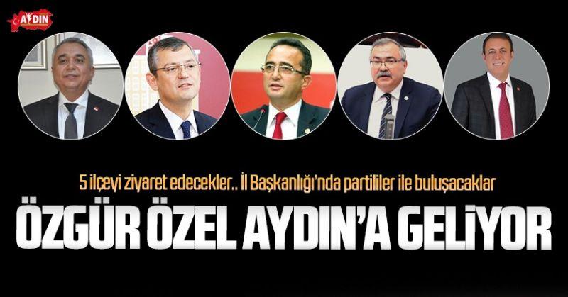 CHP AYDIN'DA CUMA GÜNDEMİ YOĞUN