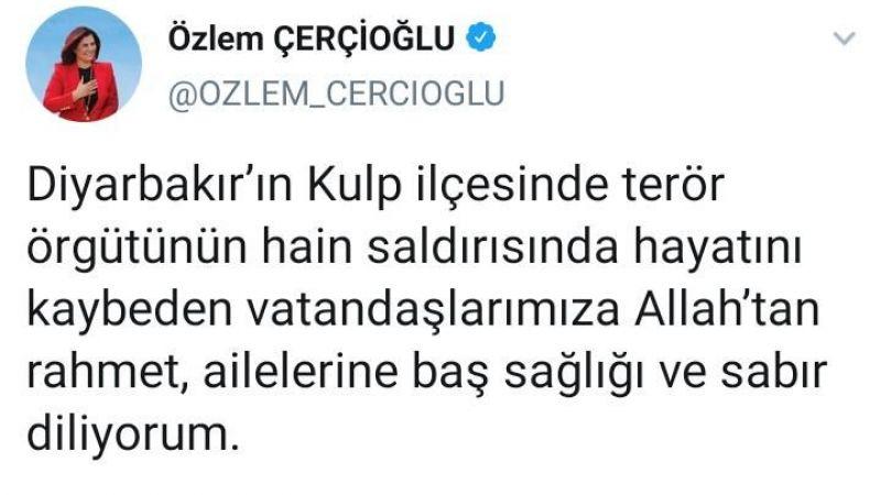 Başkan Çerçioğlu : Milletimizin başı sağolsun
