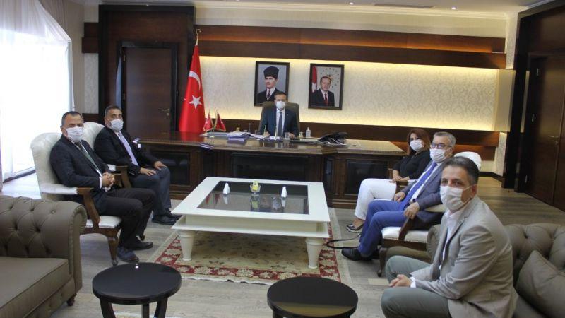 Aydın Serbest Muhasebeci Mali Müşavirler Odası'ndan Vali Aksoy'a ziyaret