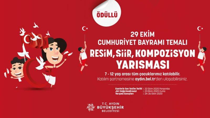 Aydın Büyükşehir Belediyesi'nden öğrencilere 90 tablet ödüllü yarışma