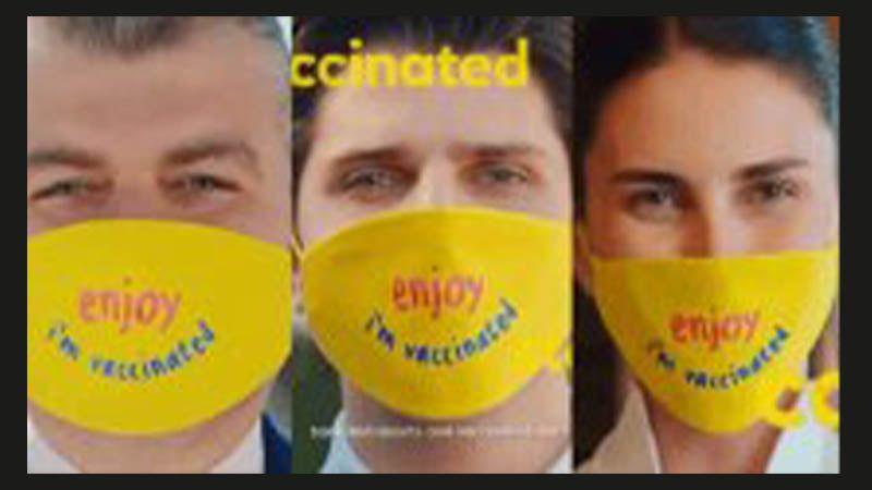 Turizm Bakanlığından skandal reklam: Turistlerin göreceği Türkler 'Ben aşılandım' maskesi takacak