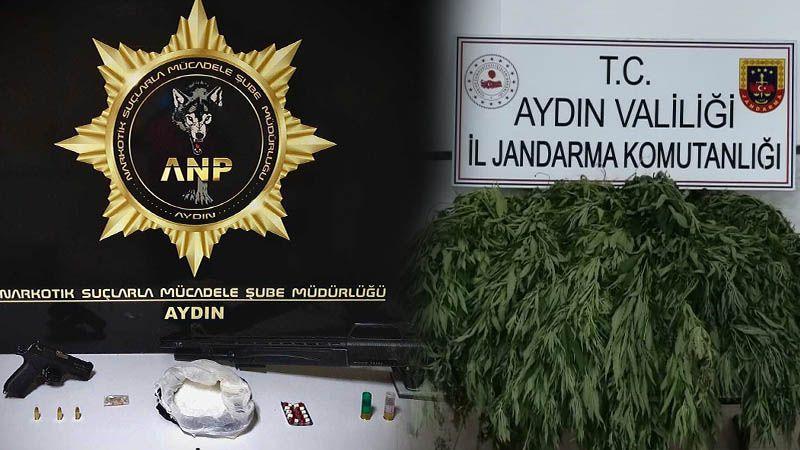 Aydın'da uyuşturucuya geçit yok! 4 kişi tutuklandı