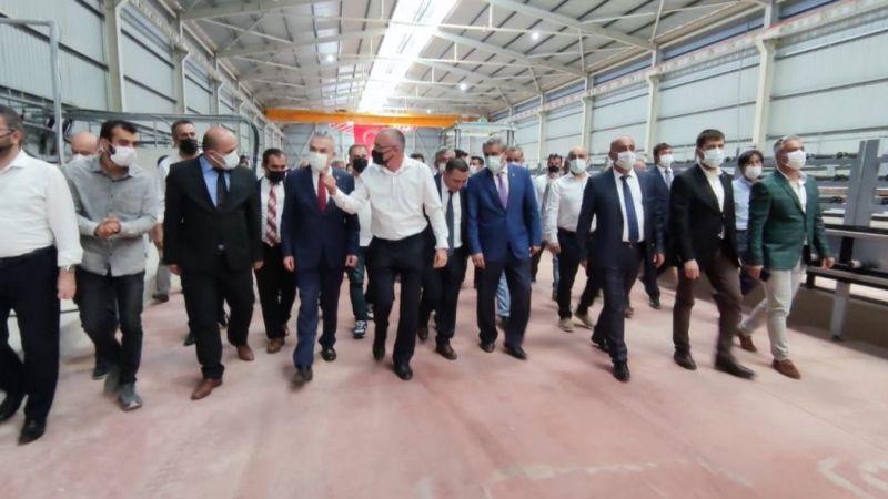 """Çine'ye büyük yatırım: """"Her fabrika bir kaledir"""""""