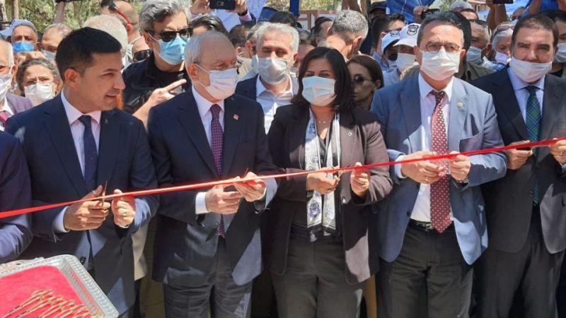 Kuşadası Ada Camping, CHP Genel Başkanı Kılıçdaroğlu'nun katılımıyla açıldı