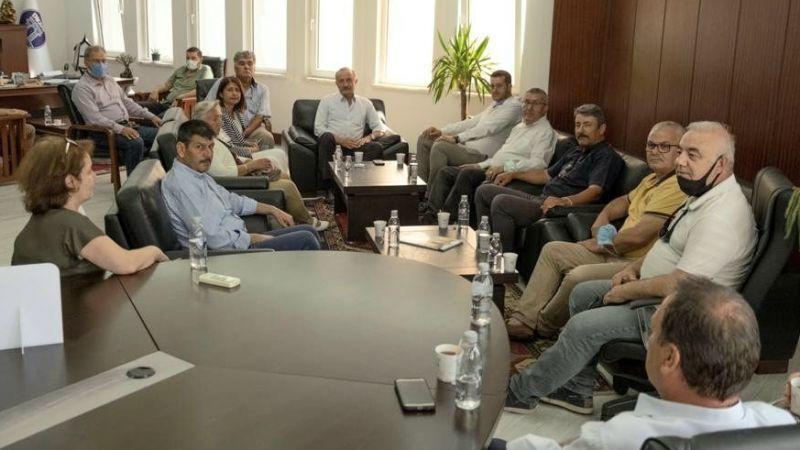 İYİ Parti ilçe yönetiminden Başkan Atabay'a ziyaret