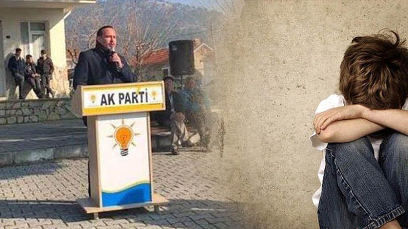 5 yaşındaki oğluna istismarda bulunan AKP'li eski Gençlik Kolları Başkanı baba tutuklandı