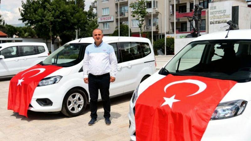 Başkan Çerçioğlu talimat verdi, İncirliova'ya 5 araç tahsis edildi