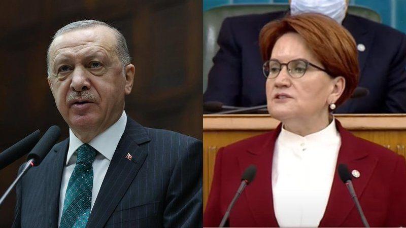 Erdoğan'ın sözleri Akşener'i sinirlendirdi: Şu ezikliğe bakar mısınız?