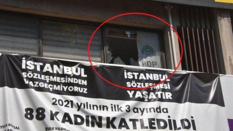 HDP il binasına silahlı saldırı: 1 kişi yaşamını yitirdi