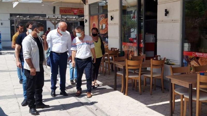 Başkan Tuncel, Latmos Çarşı'yı büyüteç altına aldı