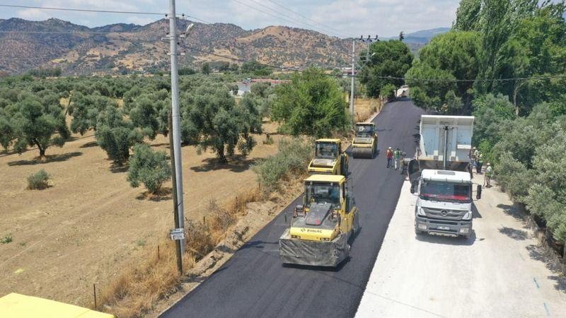 Büyükşehir Belediyesi'nden Aydın'ın yollarına altın dokunuş