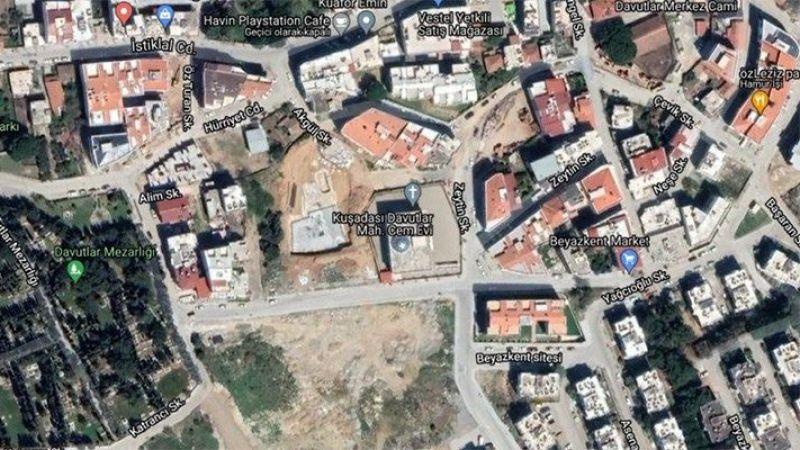 Aydın'da skandal: Cemevi'ni 'haç'la işaretlediler
