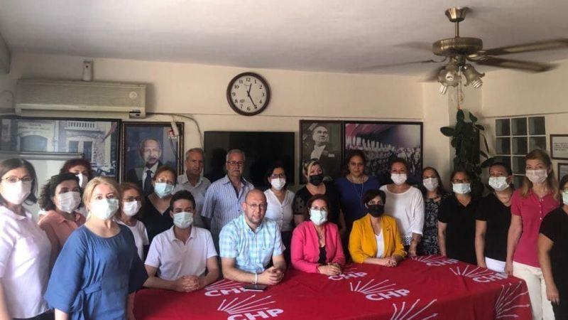 CHP Aydın İl Kadın Kolları'ndan CHP Efeler'e ziyaret