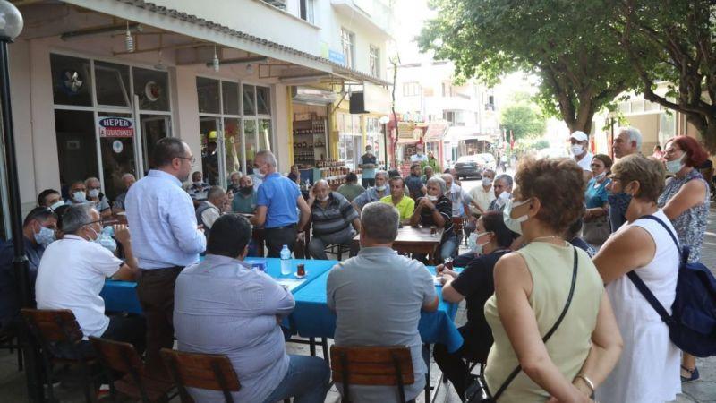 Büyükşehir Belediyesi ve ASKİ bürokratları 180 mahalleyi ziyaret etti