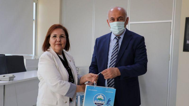 CHP İl Kadın Kolları Başkanı Ayşe Özdemir'den Başkan Tuncel'e Ziyaret