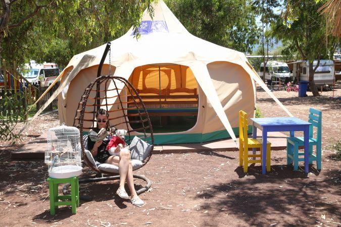 Aydın'da alternatif turizmde yeni rota: Ada Campıng