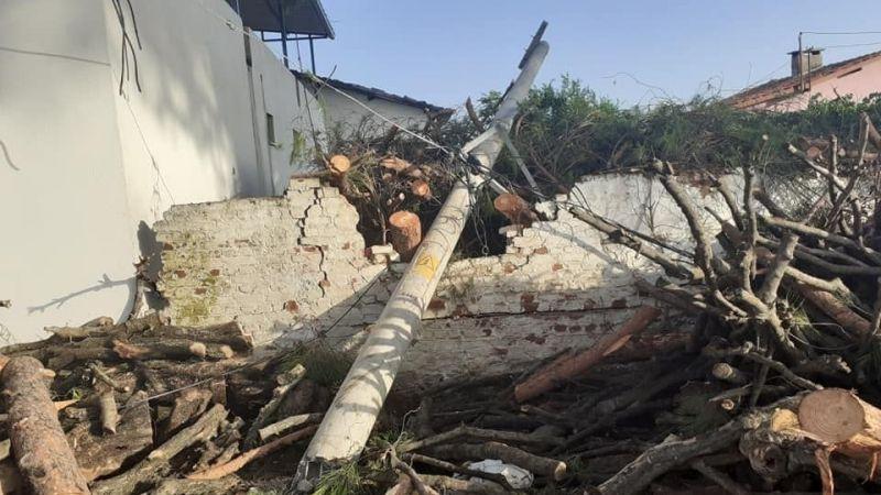 Fırtına, Büyükşehir Belediyesi Başkanvekili Karakoz'un baba evini harabeye çevirdi