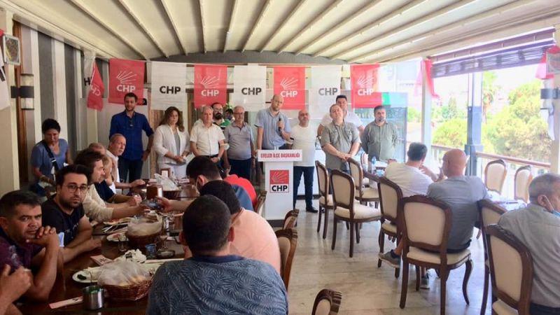 CHP Efeler mahalle temsilcileriyle bir araya geldi