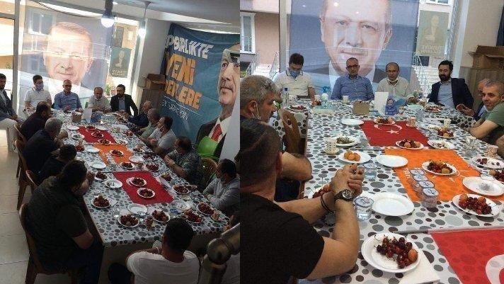 Türk Bayrağına saygısızlık yapan AKP'lilere suç duyurusu