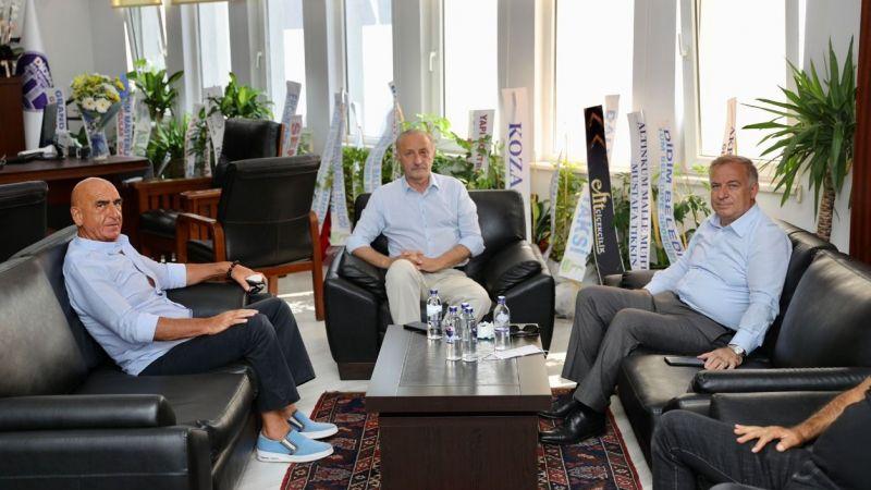 CHP Milletvekili Kökan Zeybek'ten, Başkan Atabay'a ziyaret