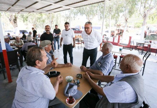Büyükşehir Belediyesi bürokratları 240 mahalleyi ziyaret etti