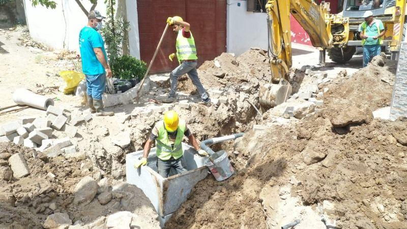 Büyükşehir Belediyesi'nin Koçarlı'daki dev yatırımının yapımı devam ediyor
