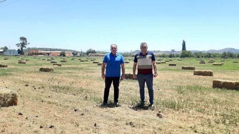 Germencik Belediyesi kırsal kalkınma hamlesini büyük adımlarla sürdürüyor