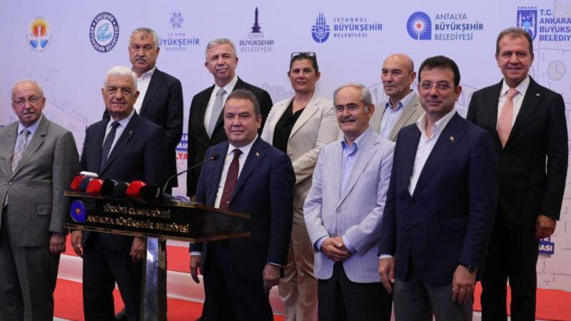 CHP'li Büyükşehir Belediye Başkanlarından ortak açıklama: Tüm engellemelere rağmen..