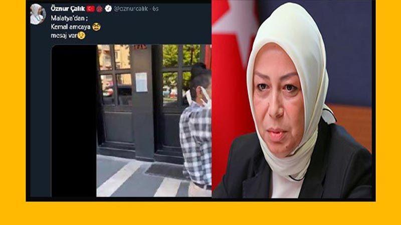AKP'li vekilden skandal paylaşım: Tepki geldi, hemen sildi!