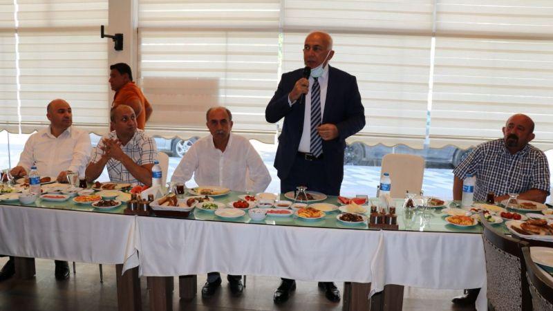 Başkan Tuncel esnaf ve sektör temsilcileri ile bir araya geldi