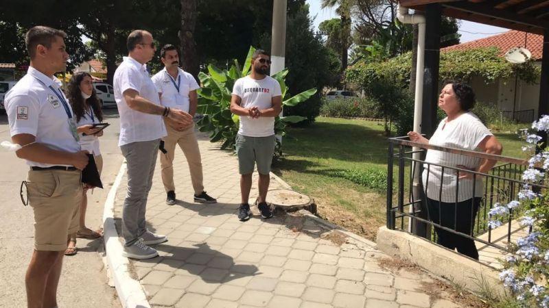 Başkan Ömer Günel'in hizmet ekibi halkla iç içe