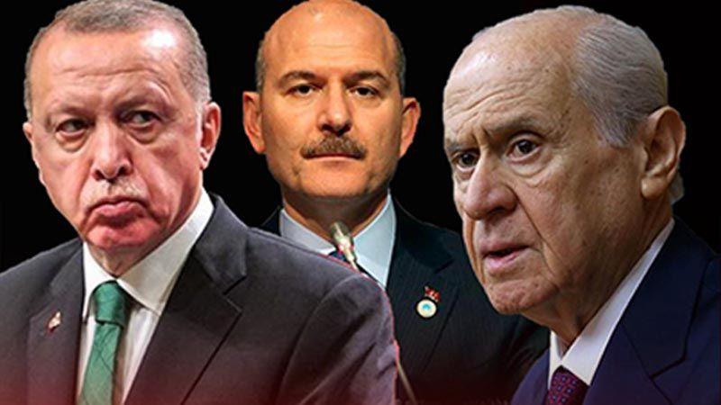 """Erdoğan ve Bahçeli arasında """"Soylu'nun istifası"""" krizi mi yaşanıyor?"""