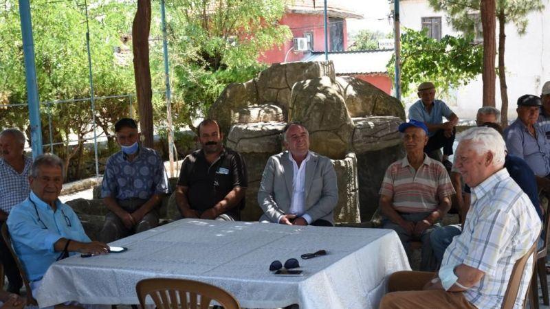 Fuat Öndeş Germencik'te 2 mahalle kütüphanesinin açılışını gerçekleştirdi