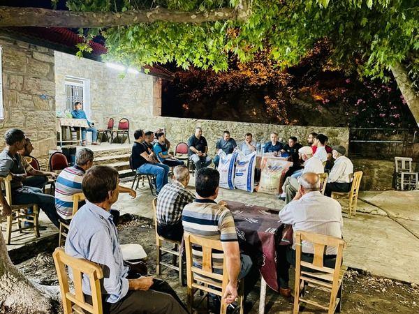 Aydın Büyükşehir Belediyesi 375 köyde vatandaşlarla bir araya geldi