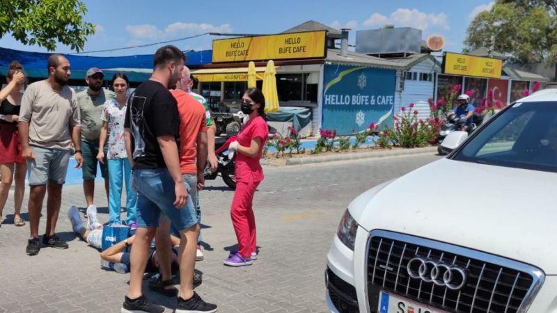 Fethiye'de feci kaza: 1 yaralı