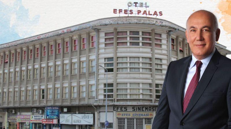 Tarihi Efes Sineması ve Oteli binası Söke'ye kazandırılıyor